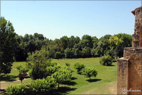 Photos des remparts de Saint-Macaire - Gironde