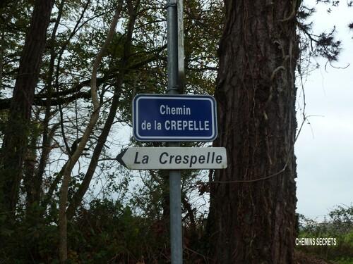 Le chemin de la Crepelle....