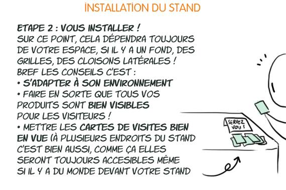 """21 March / Tuto """"Conseils pour tenir un stand amateur"""" Partie 5 [Final]"""