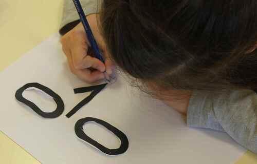 Arts visuels ou comment jouer avec des chiffres