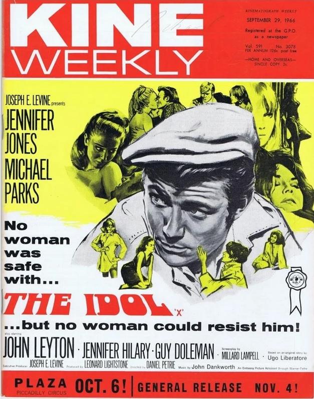 THE IDOL BOX OFFICE USA 1966