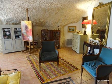 Chambre d'hôtes La Cave de l'éperon à Troo (41)