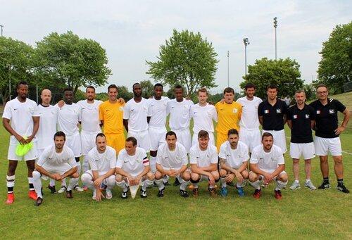 Le 8e Trophée des sélections nationales de Football Entreprise.