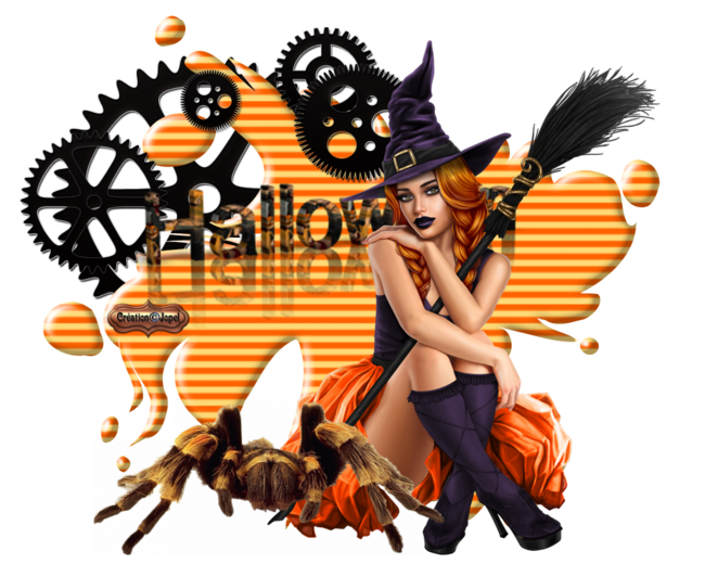 Fonds Splash Halloween