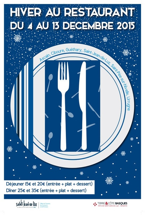 Hiver au restaurant Pays Basque 2015
