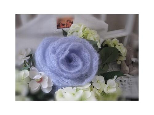 Roses en tricot