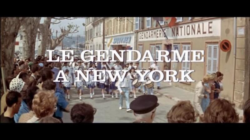 JEAN GIRAULT - LE GENDARME A NEW YORK - 1965