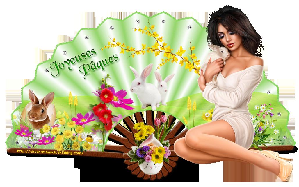 Eventails de Pâques