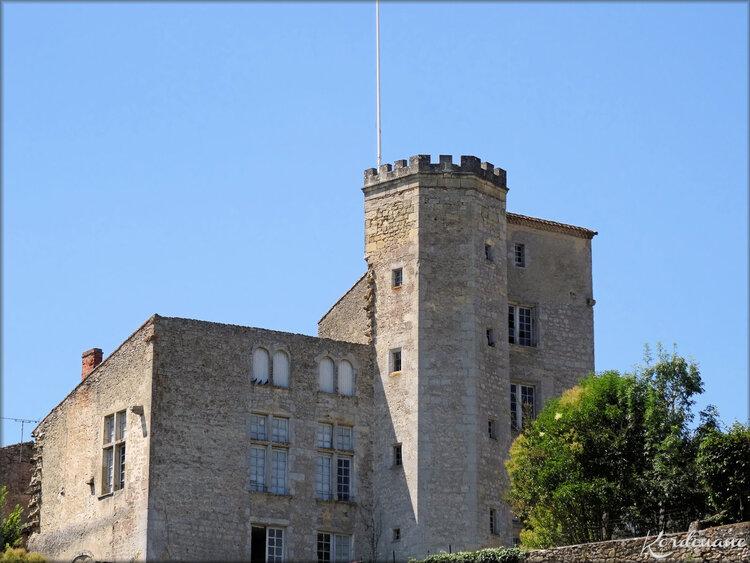 Château de Tardes - Saint Macaire