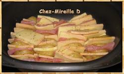 Pommes de Terre Orloff - Recette Tupperware