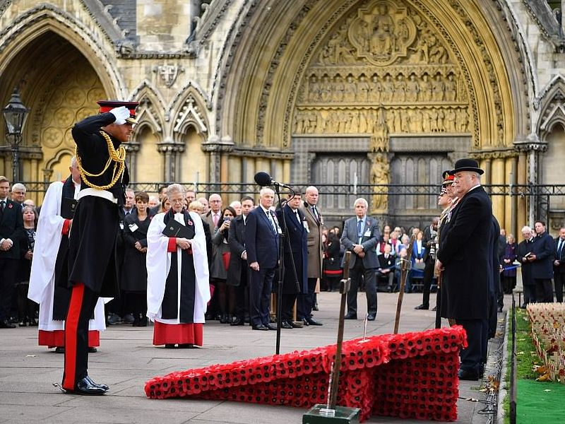 Westminster Abbey's Field of Remembrance