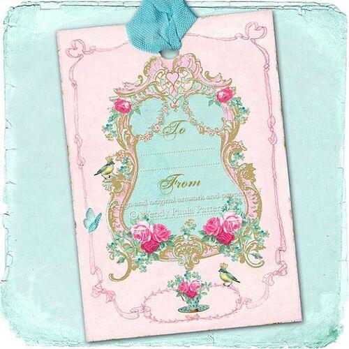 """Carterie """"Vintage, éphémère & enchanteur..."""""""