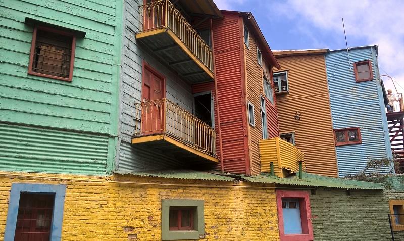 Buenos Aires, une ville haute en couleur