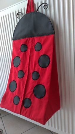 Sac a couches coccinelle