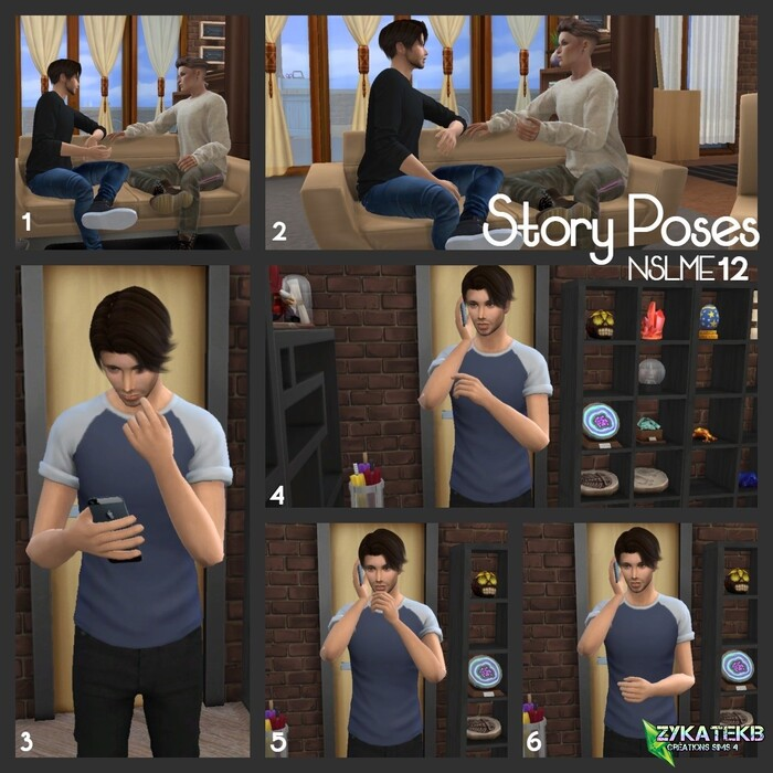 Story Poses - NSLME 12