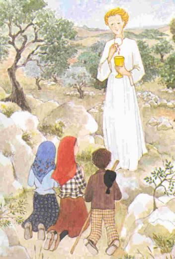 Fatima (Lucie dos Santos, Francesco Marto, Jacinta Marto) : Notre-Dame du Très-Saint Rosaire