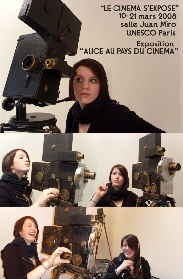 Alice Guy Le Cinema S'expose Unesco 21 mars 2008