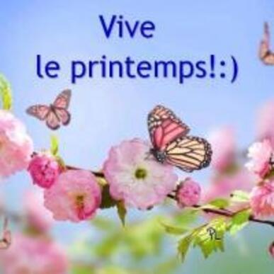 Vive le printemps! :)