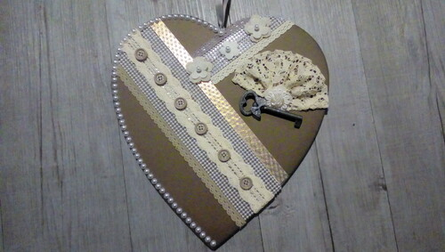 Grand coeur à  suspendre