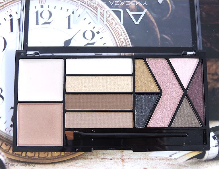 amour palette MUA swatchs
