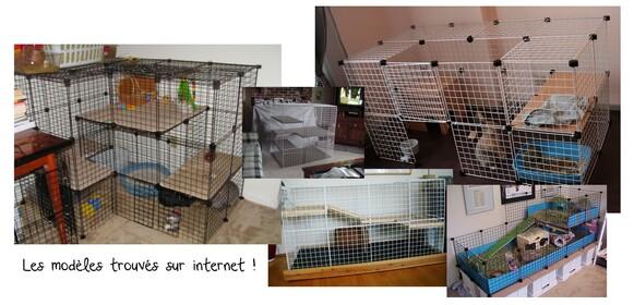 Une cage fait maison pour mon lapin ♥