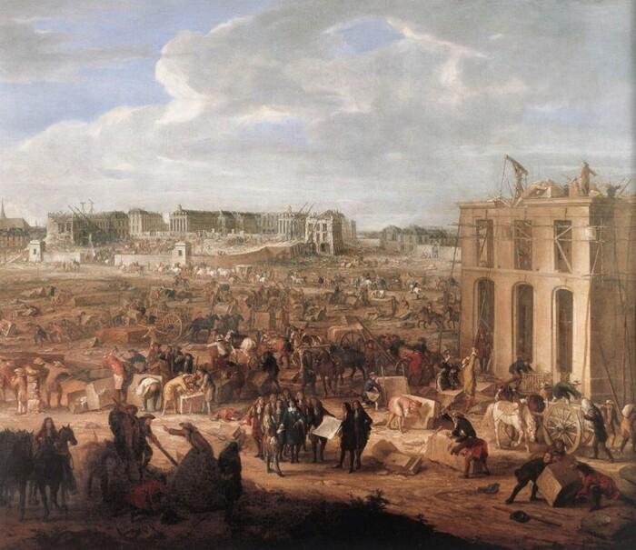 349 ans après, la commande a été finalisée à Versailles !