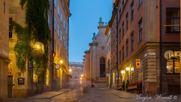 Suède : Stockholm après 22 heures