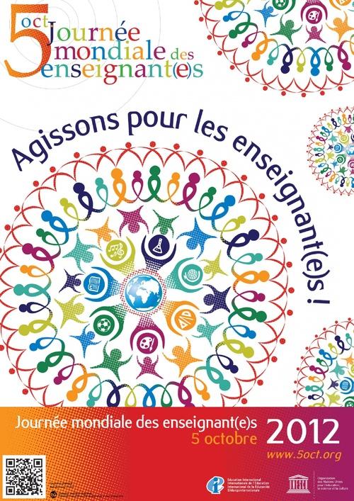 Bonne journée mondiale des enseignants!