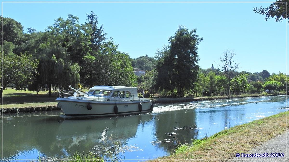 Le long du canal latéral à la Garonne - Août 2016 - 11/12