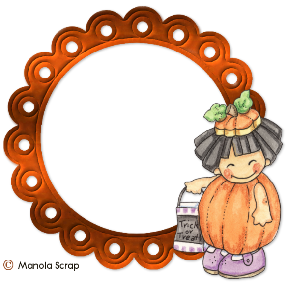 Cadres vectoriel d'Halloween page 3
