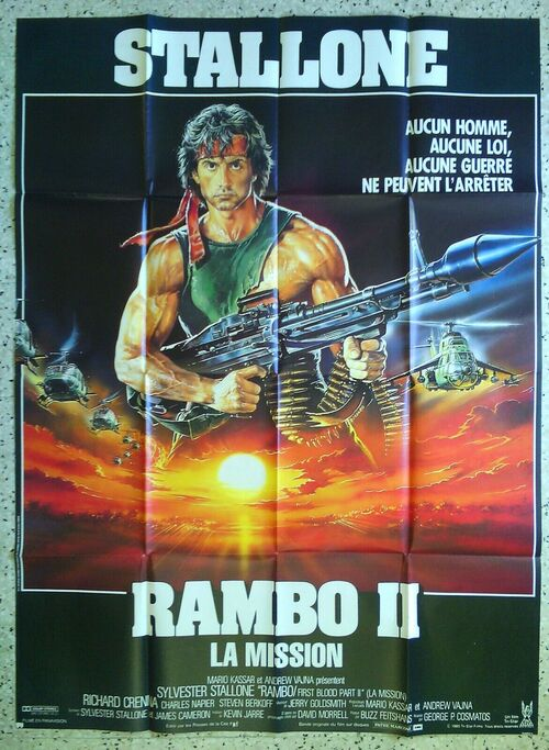 RAMBO 2 BOX OFFICE 1985