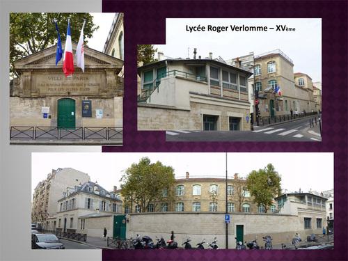Retour dans le XVème arrondissement de Paris...