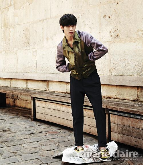 Kim Soo Hyun pour Marie Claire