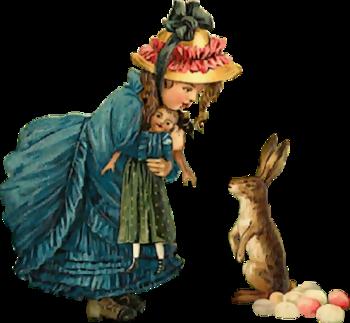 Pâques personnage 2