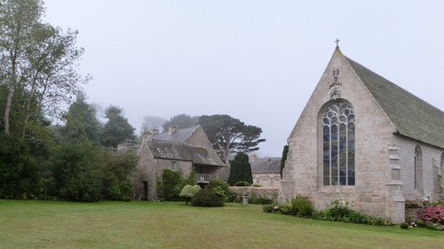 Abbaye N.D.des Anges, à Landeda sur l'Aber Wrac'h