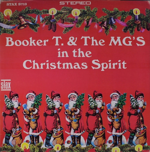 "1967 : Album "" In The Christmas Spirit "" Stax ‎Records S 713 [ US ]"