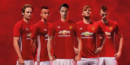 Nouveau Maillot Manchester United pour la saison 2016-2017 Domicile
