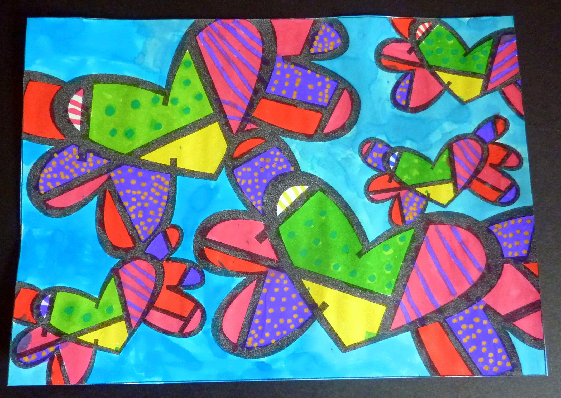 arts visuels inspir u00e9s de romero britto