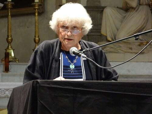 """""""L'ancienne abbaye Notre-Dame"""", une superbe conférence de Françoise Vignier, lors de la venue de """"Musiques en Voûtes"""" à Châtillon sur Seine"""