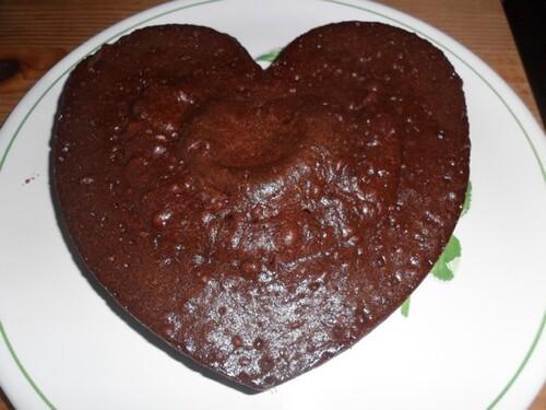 *** Fondant au chocolat au micro-ondes ***