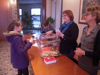 Election du CMJ et visite de la Mairie