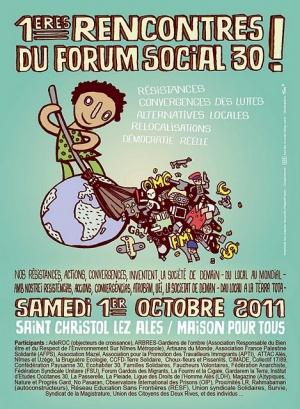 1ères rencontres du forum social du Gard