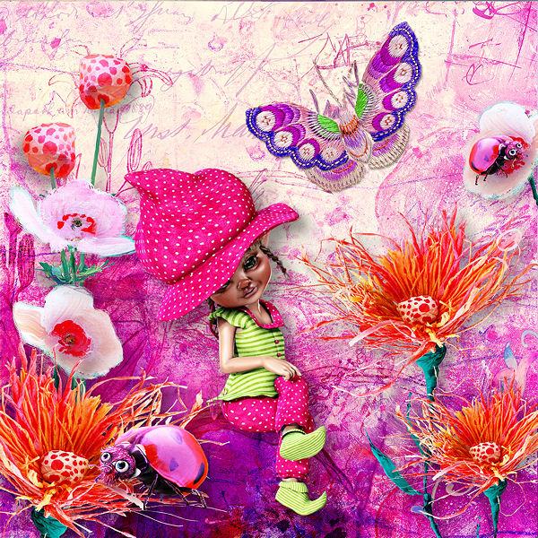 """""""Fuzzy Gardens"""" by Lorie Davison"""