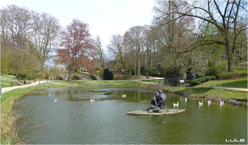 Le Parc Louise-Marie de Namur