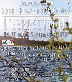Exposition de photos de la ville de Condé-sur-l'Escaut
