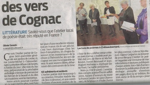 Reportage  d' Olivier Sarazin , sud-ouest ....