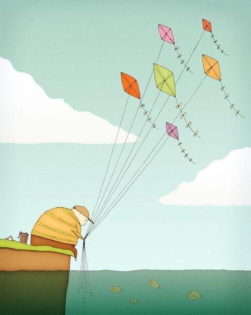 Cerfs-volants(2)