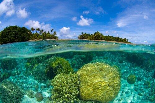 Atoll de Bikini, îles Marshall