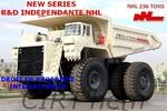 NHL-NORTH HAULER:  ses propres 136, 220, 236, 330 tonnes et plus.