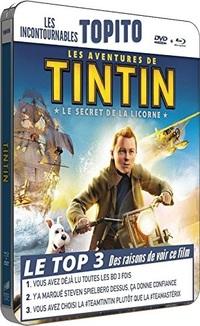 [Test Blu-ray] Les Aventures de Tintin : Le Secret de la Licorne